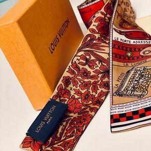 Authentic Louis Vuitton Bandeau / Scarf